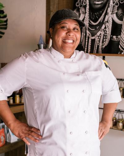 Chef Kenna Copes
