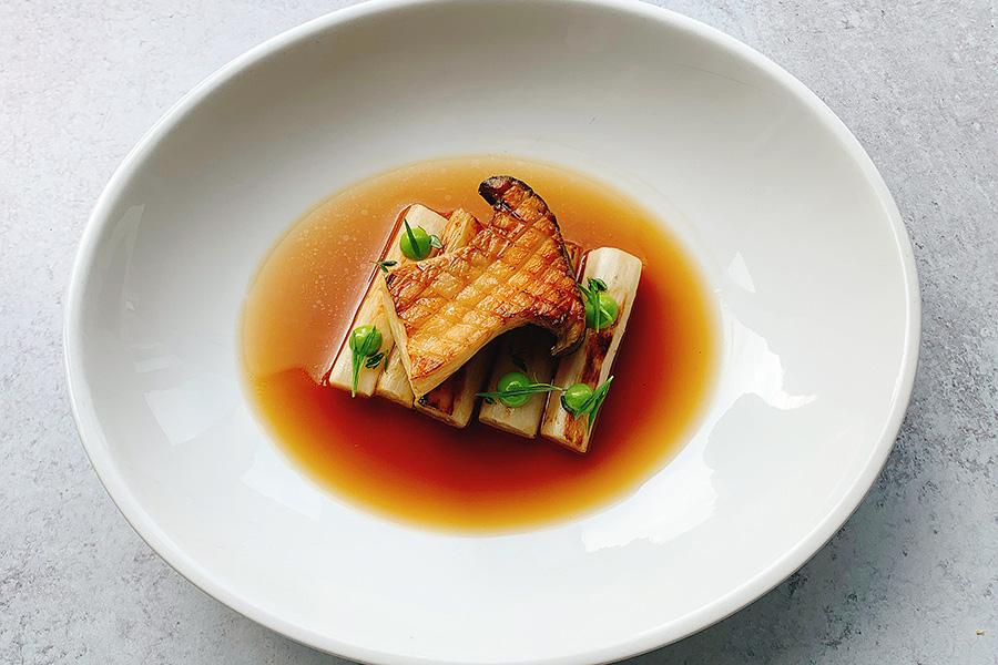 an advanced fermented mushroom dish