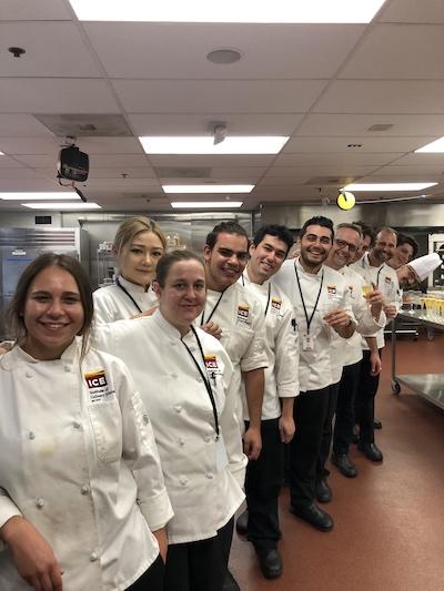 Shant Halajian's Culinary Arts class